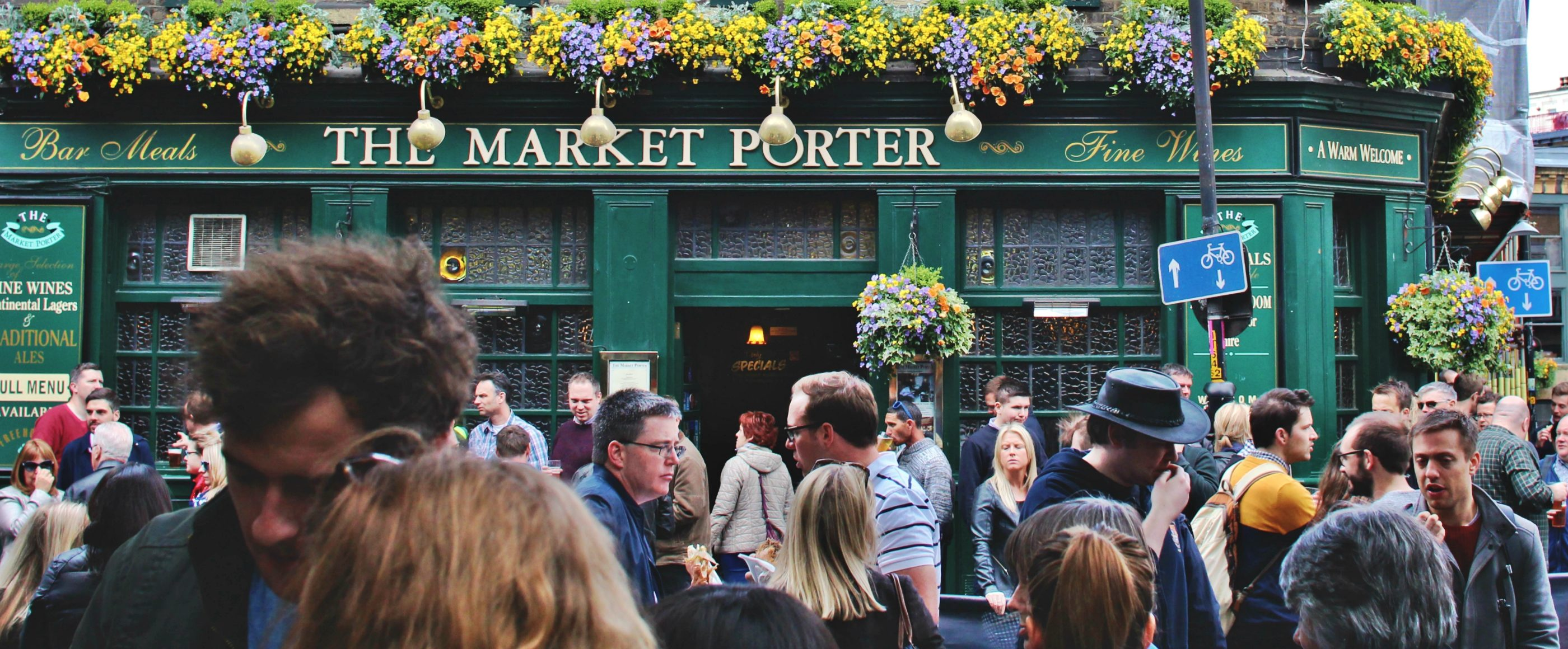 The Market Porter customers